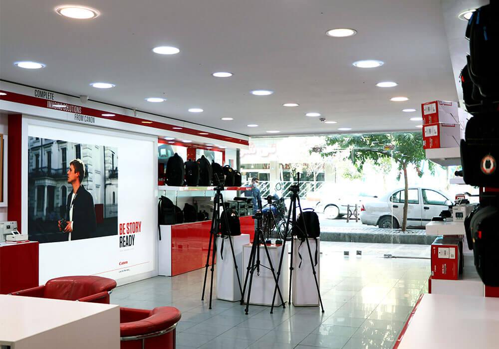 نمای-فروشگاه-نمایندگی-فروش-دوربین-عکاسی-مهان